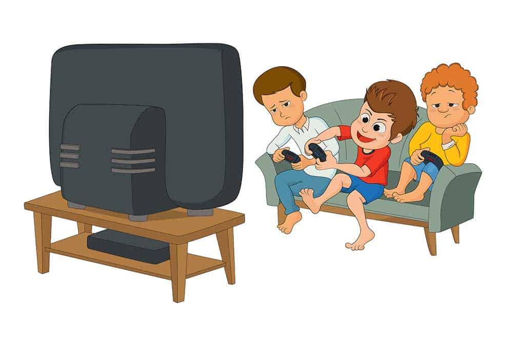 Turn Off TV's and Electronics Hours Before Bedtime